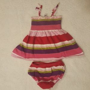Baby Gap Striped Tank Dress Outfit